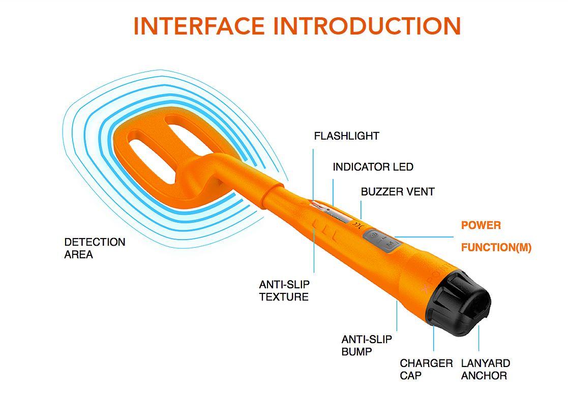 SCUBA TECTOR by QUEST = Scuba Detector = Underwater Metal Detector 60m Waterproof Diving Snorkelling Metal Detecting